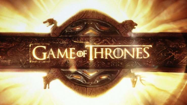 Game of Thrones logo title credits HBO