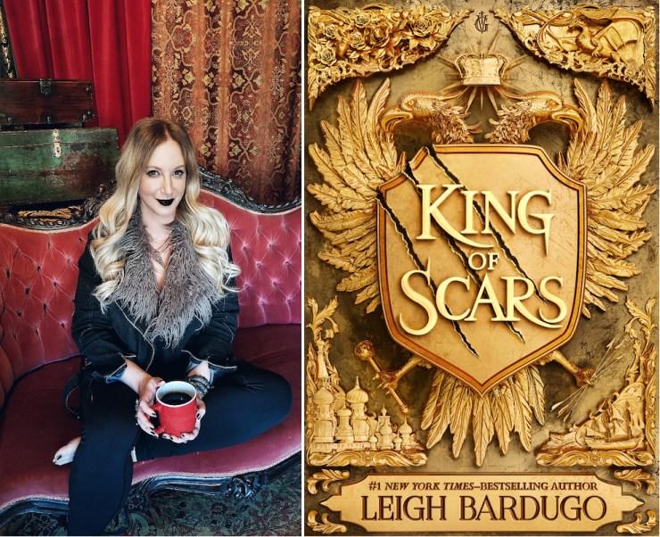 Leigh Bardugo King of Scars author tour book tour dates venues Grishaverse