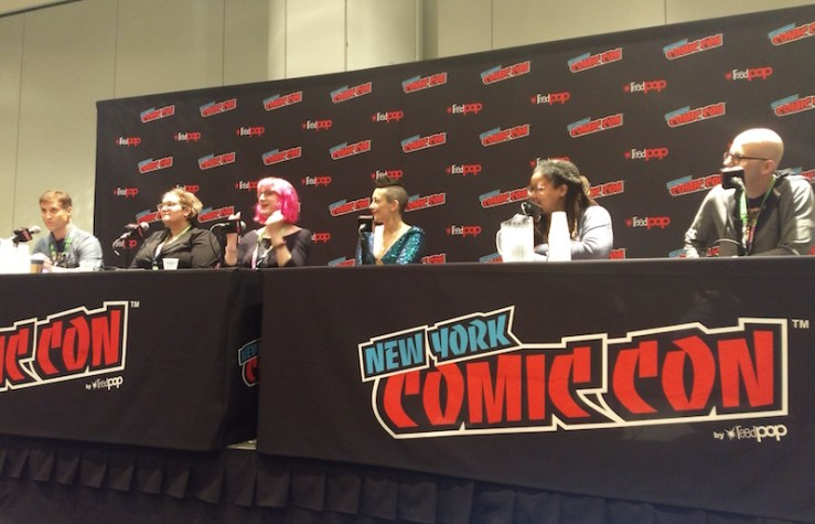 New York Comic Con, Best American Science Fiction and Fantasy panel
