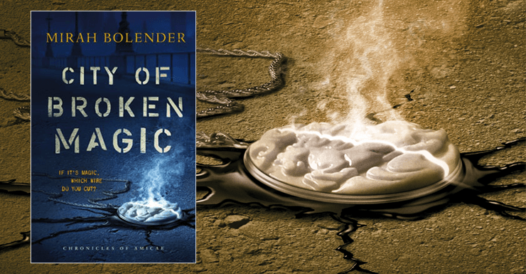 Blog Post Featured Image - A Promising Debut: City of Broken Magic by Mirah Bolender