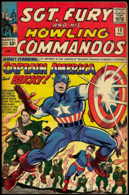 """Blog Post Featured Image - """"Wah-Hoo!"""": Sgt. Fury and the Howling Commandos #13 by Stan Lee and Jack Kirby"""