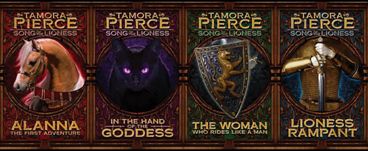 Image result for tamora pierce books alanna
