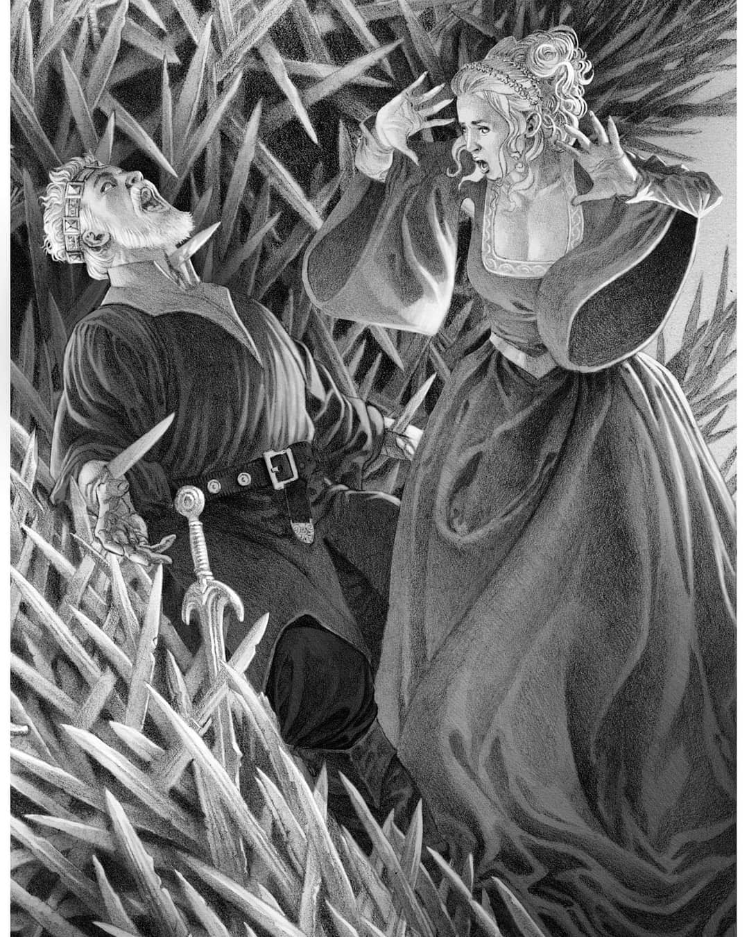 Resultado de imagen para fire and blood george rr martin illustrations