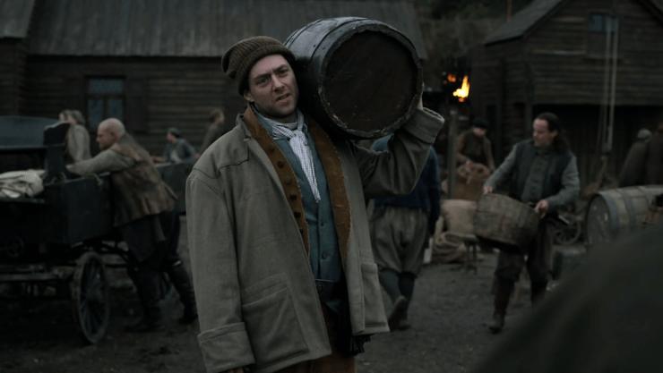 "Outlander 407 ""Down the Rabbit Hole"" television review Roger Stephen Bonnet"