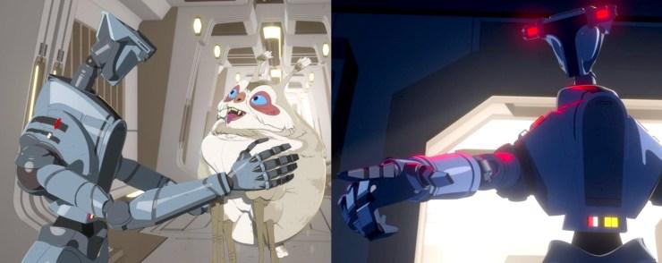 Star Wars Resistance, 4D-M1N
