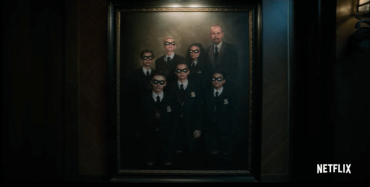 The Umbrella Academy teaser Netflix