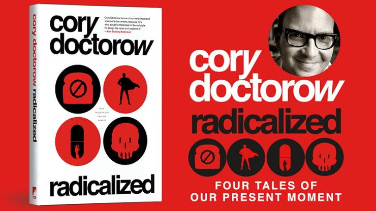 Blog Post Featured Image - Cory Doctorow's Radicalized Has Been Shortlisted for the Canada Reads Prize!