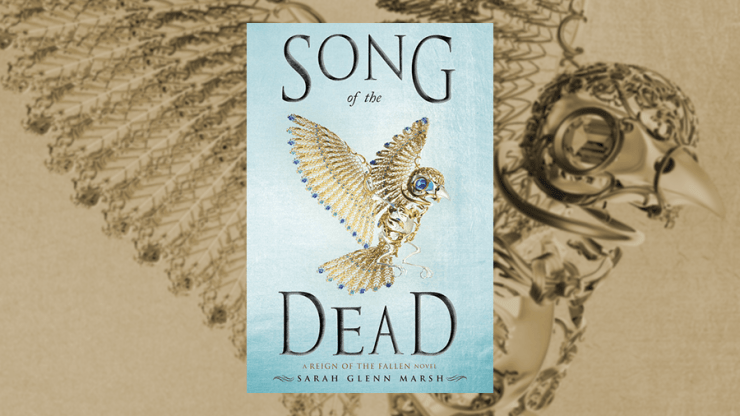 Blog Post Featured Image - Fast, Fun Fantasy: Song of the Dead by Sarah Glenn Marsh