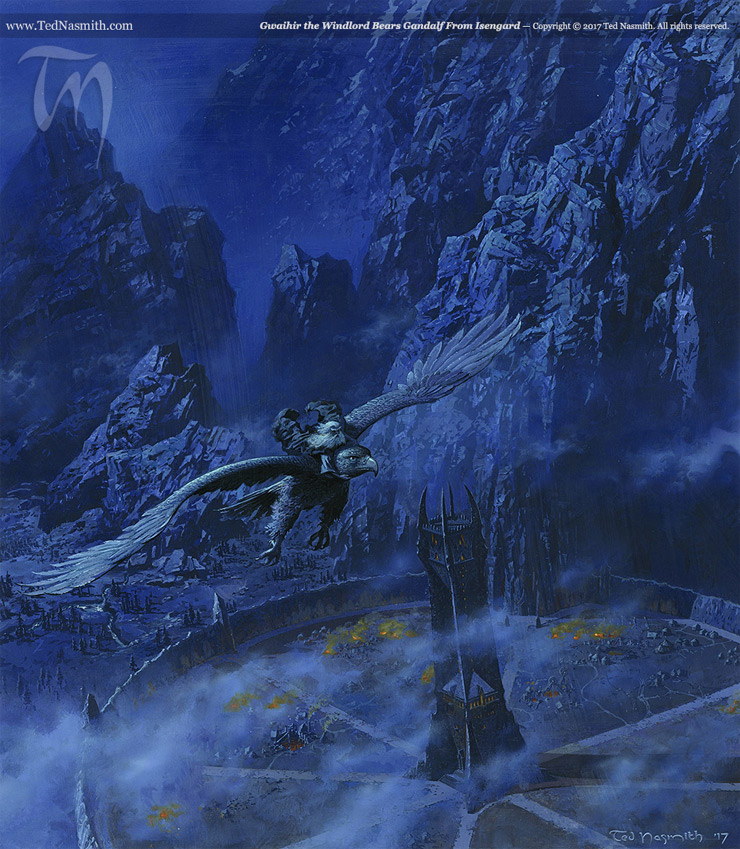 Ted Nasmith Is the Bob Ross of Middle-earth | Tor com