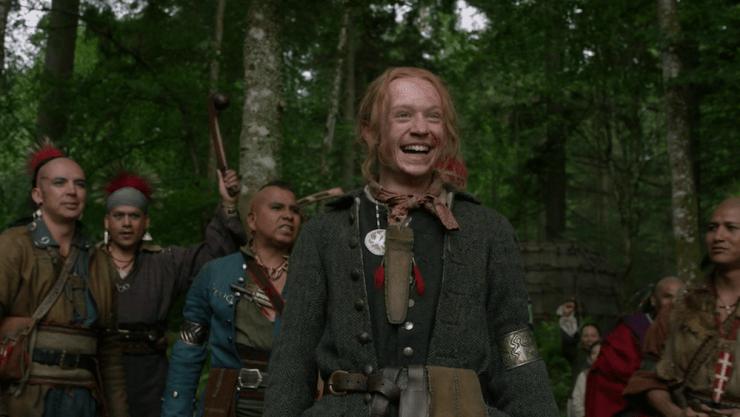 "Outlander season 4 finale ""Man of Worth"" Young Ian Mohawk"