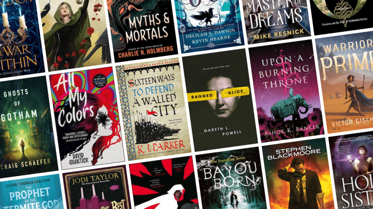 Blog Post Featured Image - All the New Fantasy Books Coming Out in April!