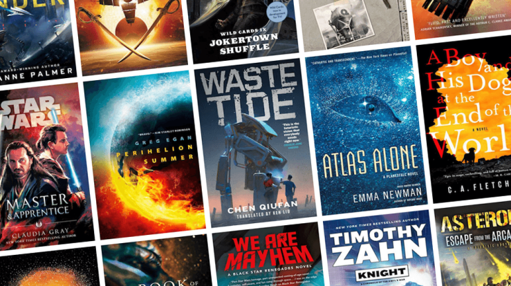 Blog Post Featured Image - All the New Science Fiction Books Coming Out in April!