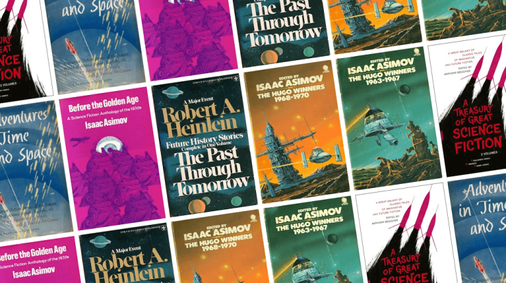 Blog Post Featured Image - Six Bulky Classics Delivered by the Science Fiction Book Club