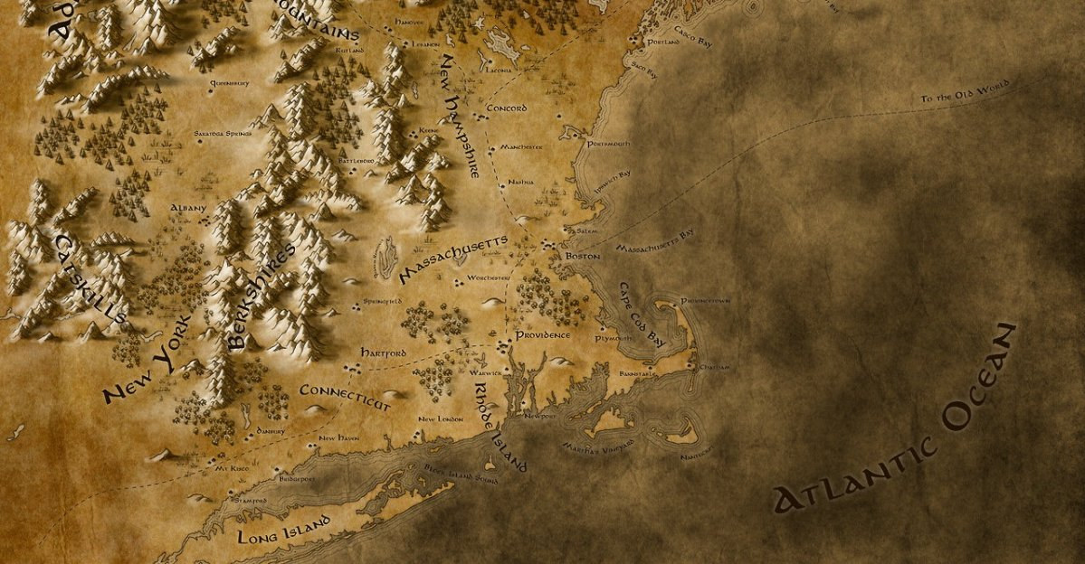 What Does a Fantasy Map Look Like?