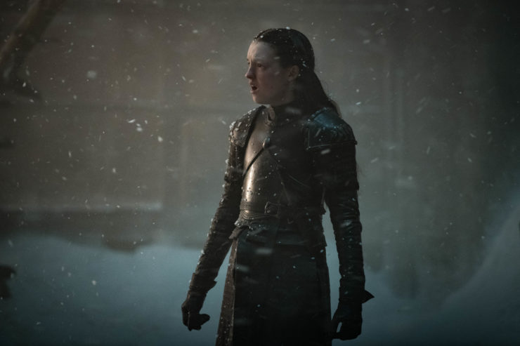 Lyanna Mormont The Long Night