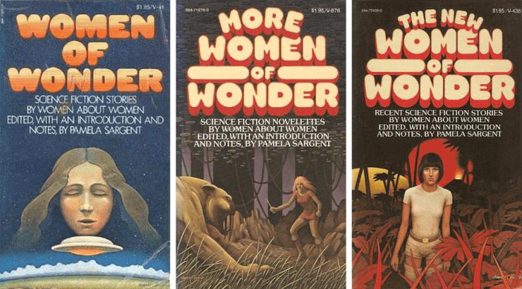 Blog Post Featured Image - A Brief History of Pamela Sargent's Women of Wonder Anthologies