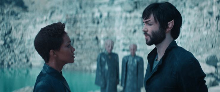 Michael and Spock, Star Trek Discovery, season 2