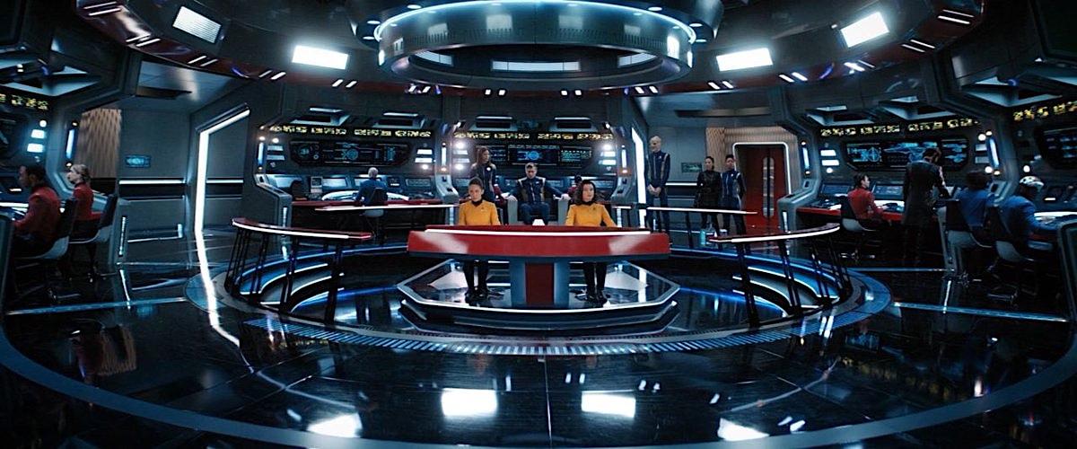 Star Trek Discovery Enterprise bridge