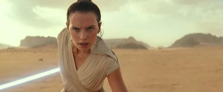 Star Wars Episode 9 The Rise of Skywalker trailer Rey
