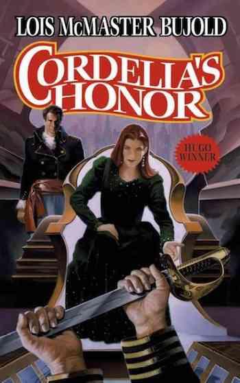 Cordelia's Honor cover, Lois McMaster Bujold, Vorkosigan Saga