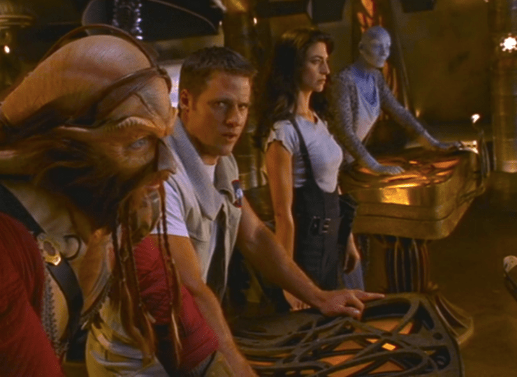 Farscape crew, season 1