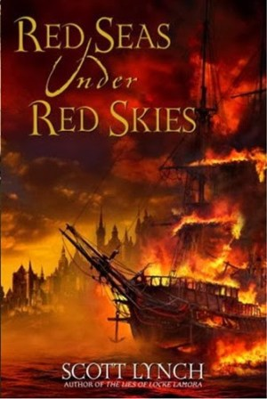 Red Seas Under Red Skies, cover, Scott Lynch