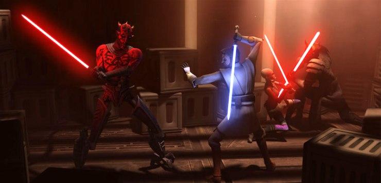 Star Wars: The Clones Wars, Revenge