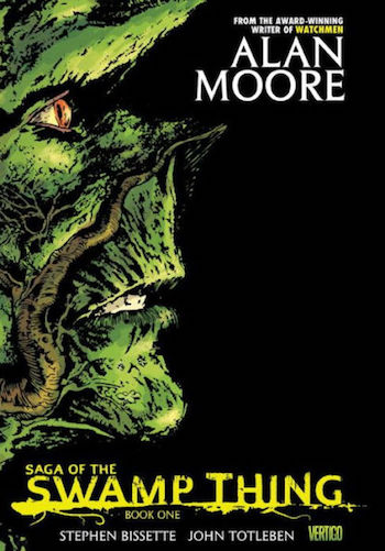 The Saga of Swamp Thing cover, volume 1