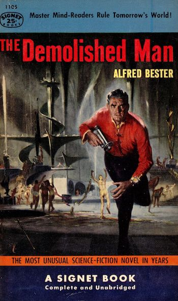 The Demolished Man, Alfred Bester, cover