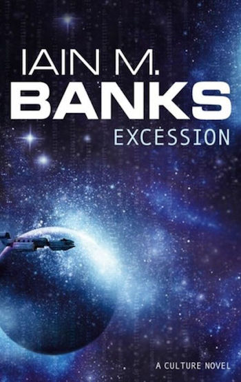 Excession, Culture novel, cover, Iain M. Banks