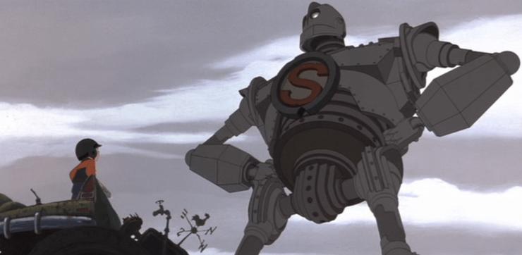 Iron Giant as Superman