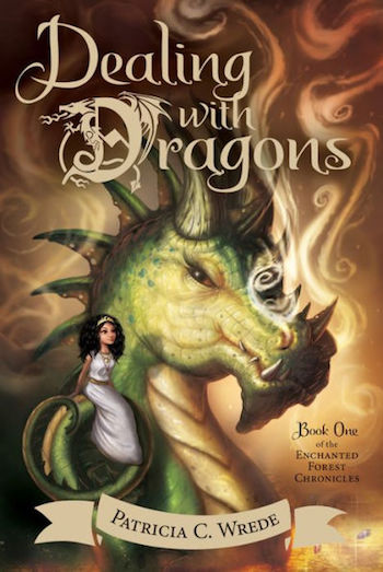 Dealing With Dragons cover, Patricia C Wrede