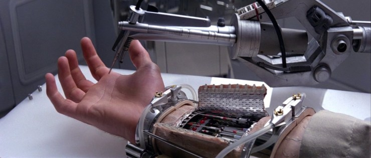 Empire Strikes Back Luke Skywalker prosthetic hand
