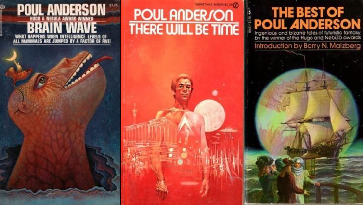 Poul Anderson appreciation five favorites