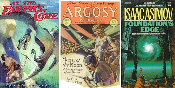 Science Fiction Auction Features Rare and Original Artwork, First-Edition Book Covers