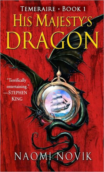 His Majesty's Dragon, Naomi Novik