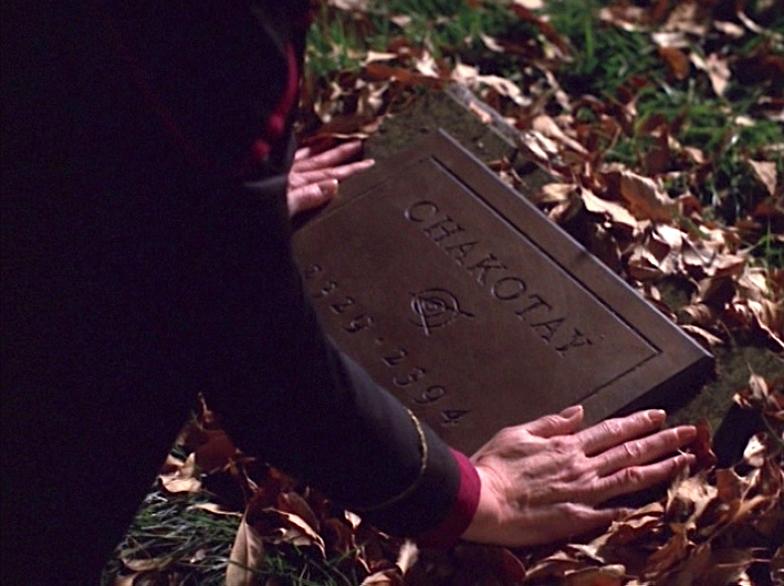 Star Trek Voyager Endgame Chakotay grave