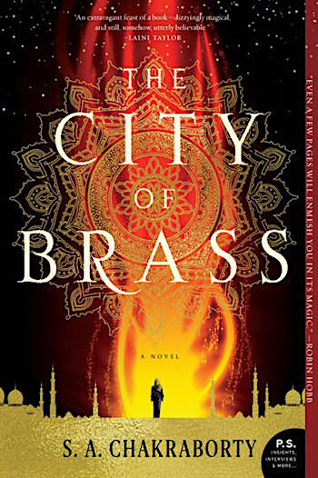 The City of Brass, cover