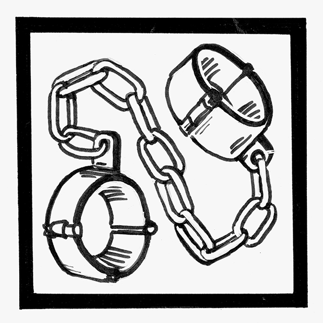 Warrior of Altaii chapter icon shackles