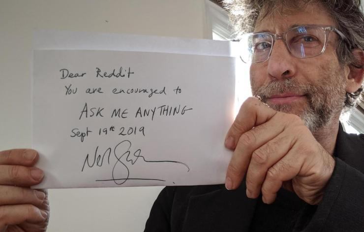 Blog Post Featured Image - Some Writing Advice (Plus a Porridge Recipe!) from Neil Gaiman