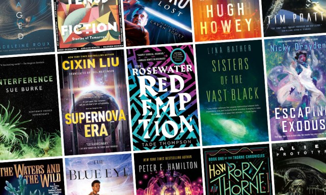 All the New Science Fiction Books Coming out in October!