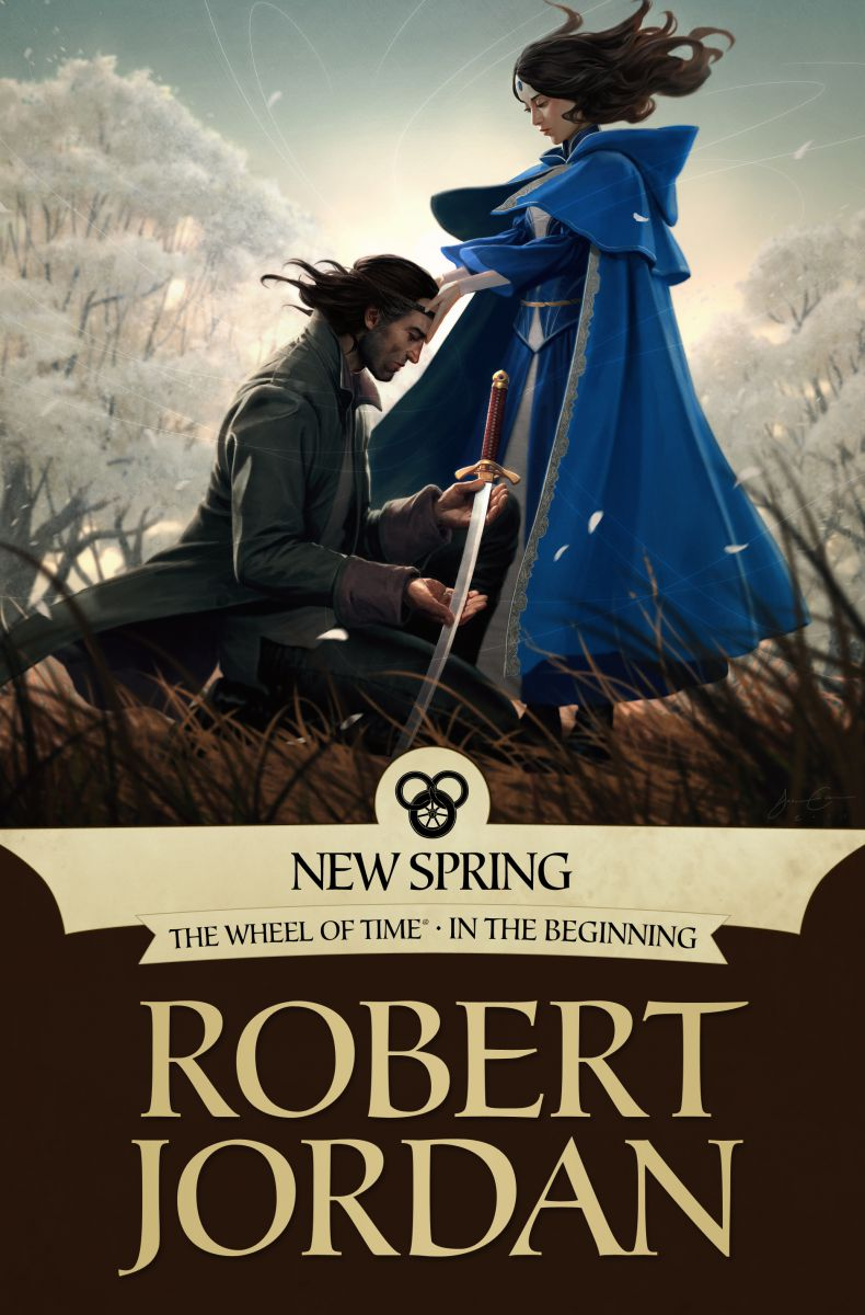 The Wheel of Time New Spring by Robert Jordan ebook cover