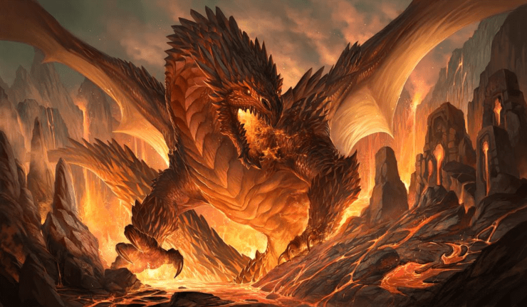Blog Post Featured Image - A Brief History of Dragons Throughout Western Literature