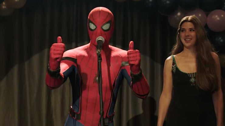 Spider-Man Far From Home thumbs up