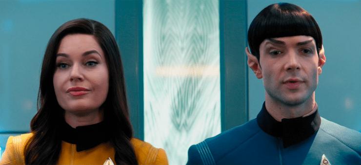 "Elevator Pitch — Star Trek's ""Q & A"""