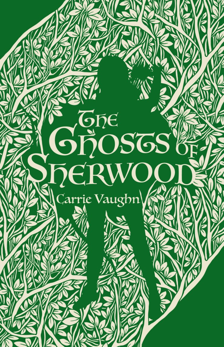 Book cover: The Ghosts of Sherwood by Carrie Vaughn