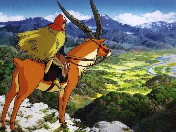 Princess Mononoke Screenshot: Studio Ghibli