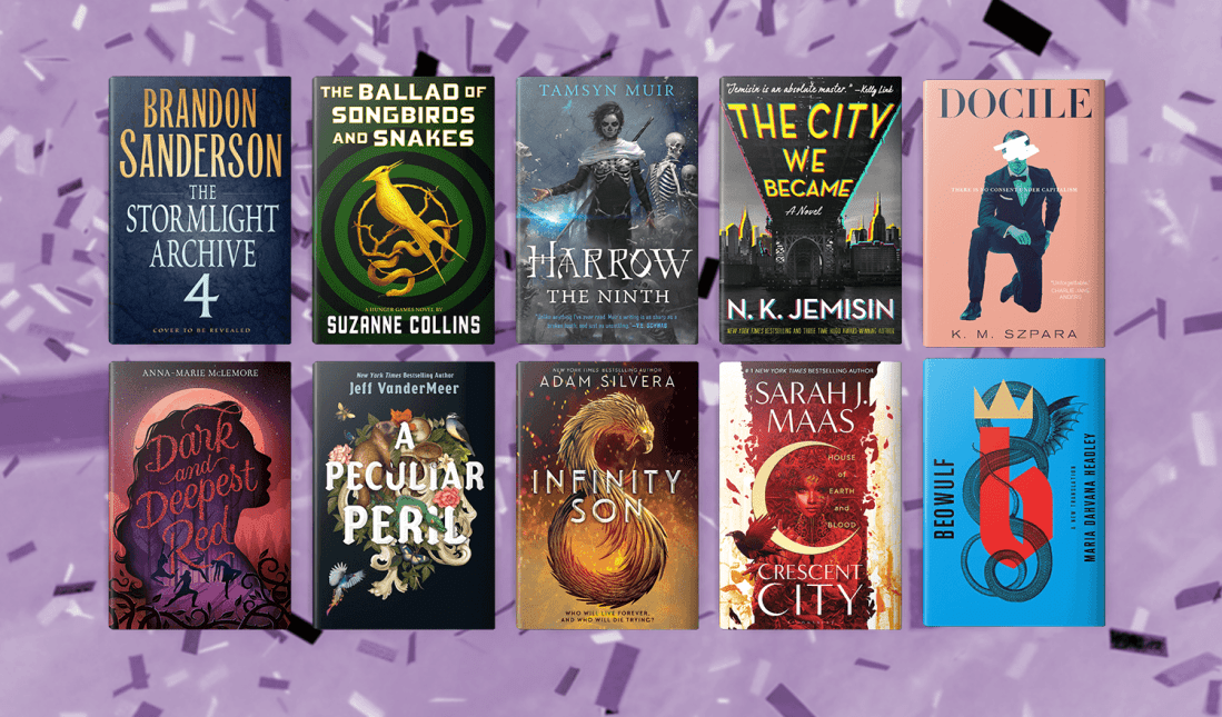 The 25 Most Anticipated SFF Books of 2020