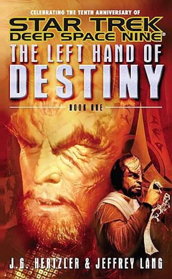Blog Post Featured Image - Star Trek: Deep Space Nine Reread — The Left Hand of Destiny, Book One