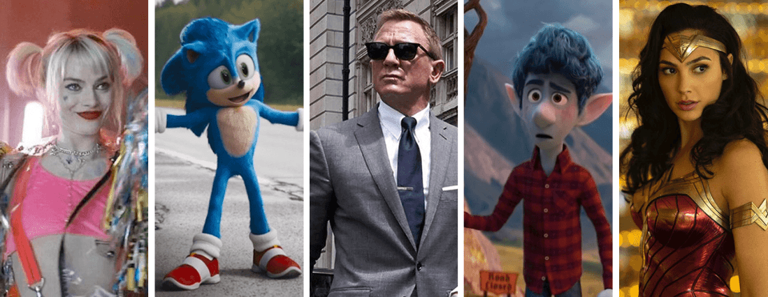Movies We're Looking Forward to in 2020